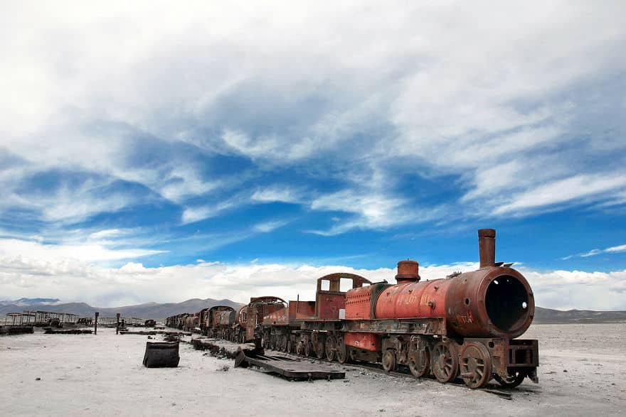 An-Abandoned-Train-Rusts-Around