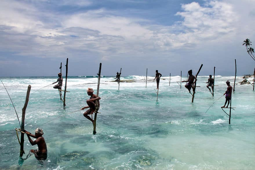FIshermen-Of-Sri-Lanka-in-Ahangama