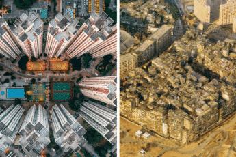 Самое плотно населённое место на планете до 1990-х годов - Kowloon-Walled-City-In-HongKong
