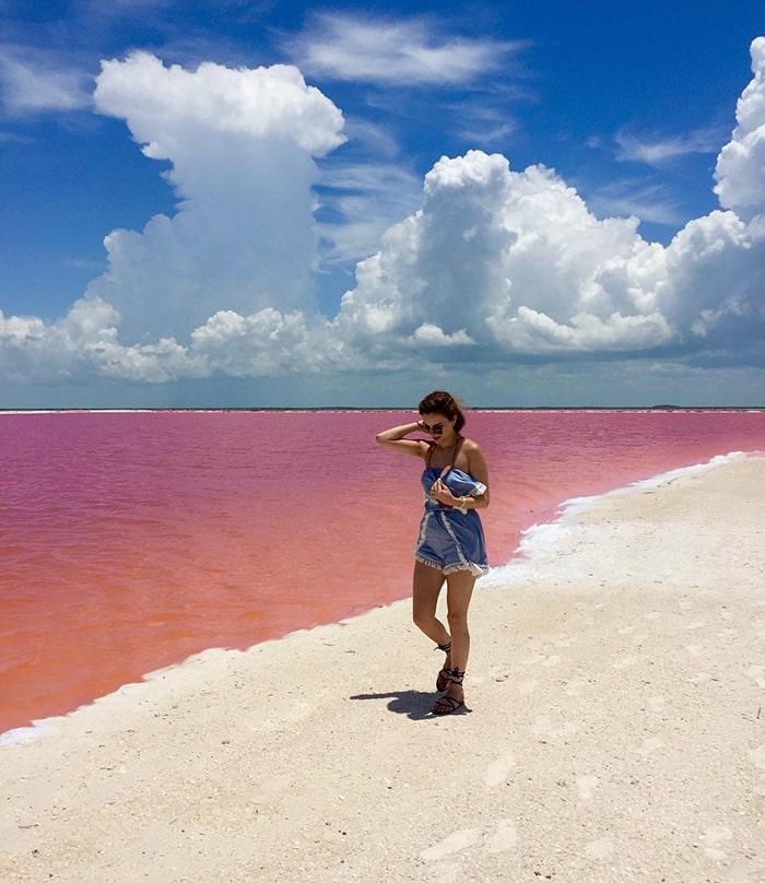 Розовая лагуна в Мексике - 2