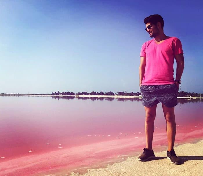 Розовая лагуна в Мексике - 3