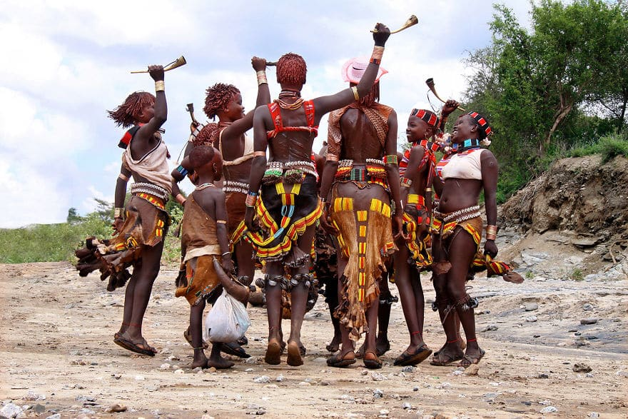 Ritual-Dance-Hamer-People‏-Ethiopia