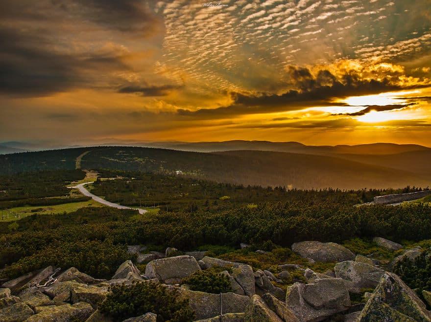 Крконоше, или Карконоше, или Исполиновы горы (Karkonosze) - горный массив на территории Чехии и Польши-1
