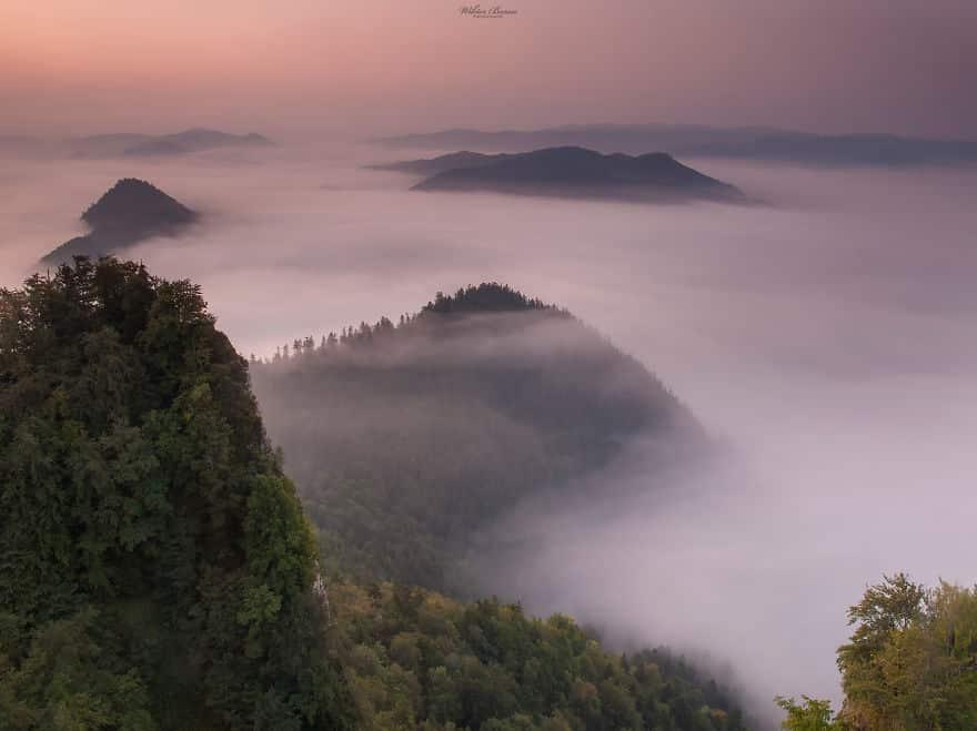 Пенины (Pieniny) - горный массив в северо-восточной Словакии и юго-восточной Польше