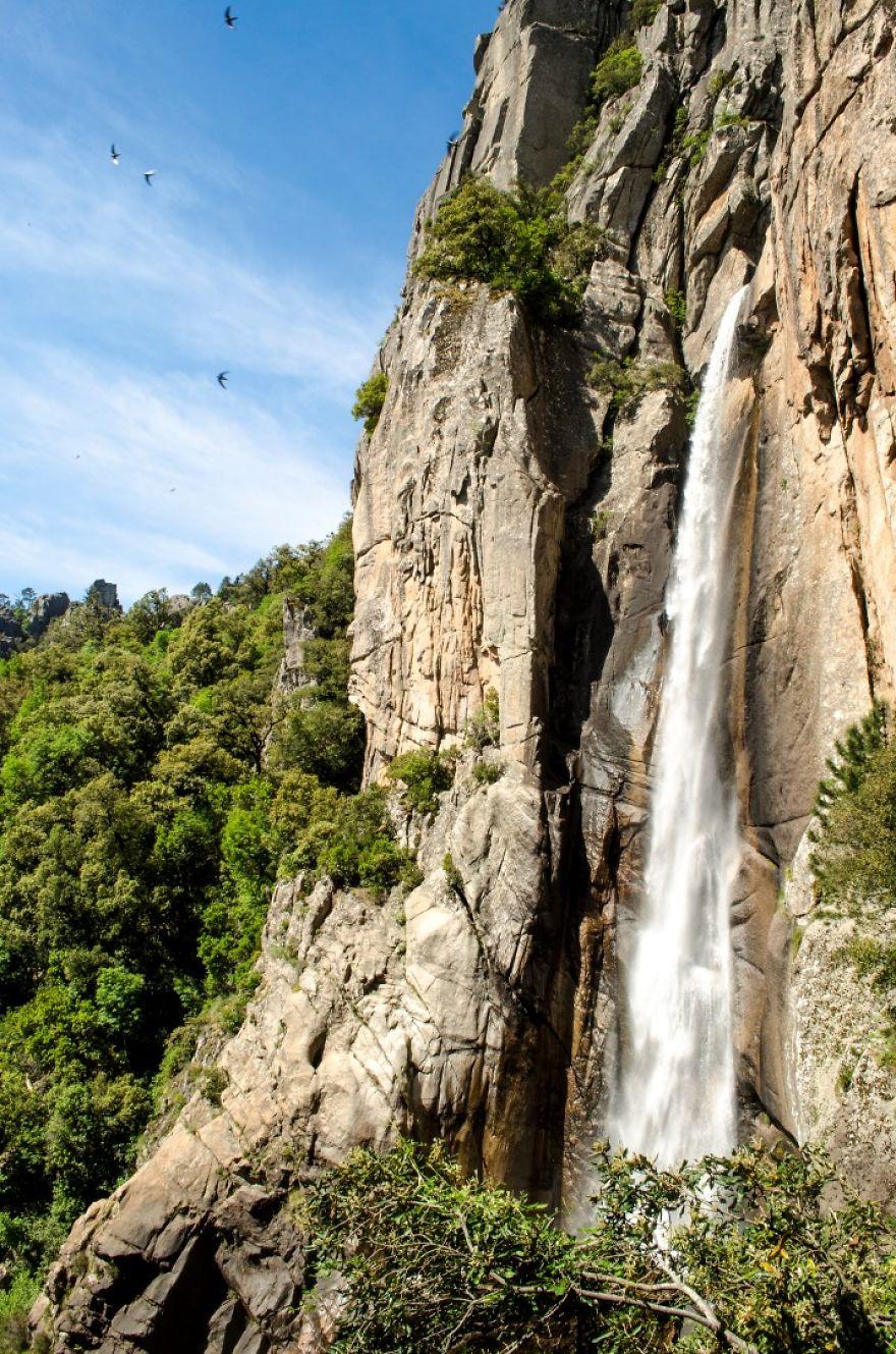 Водопад Piscia di Gallo