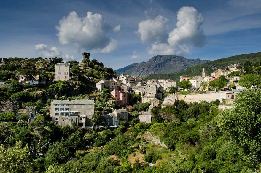 горная деревня, коммуна Спелонкато (Speloncato)