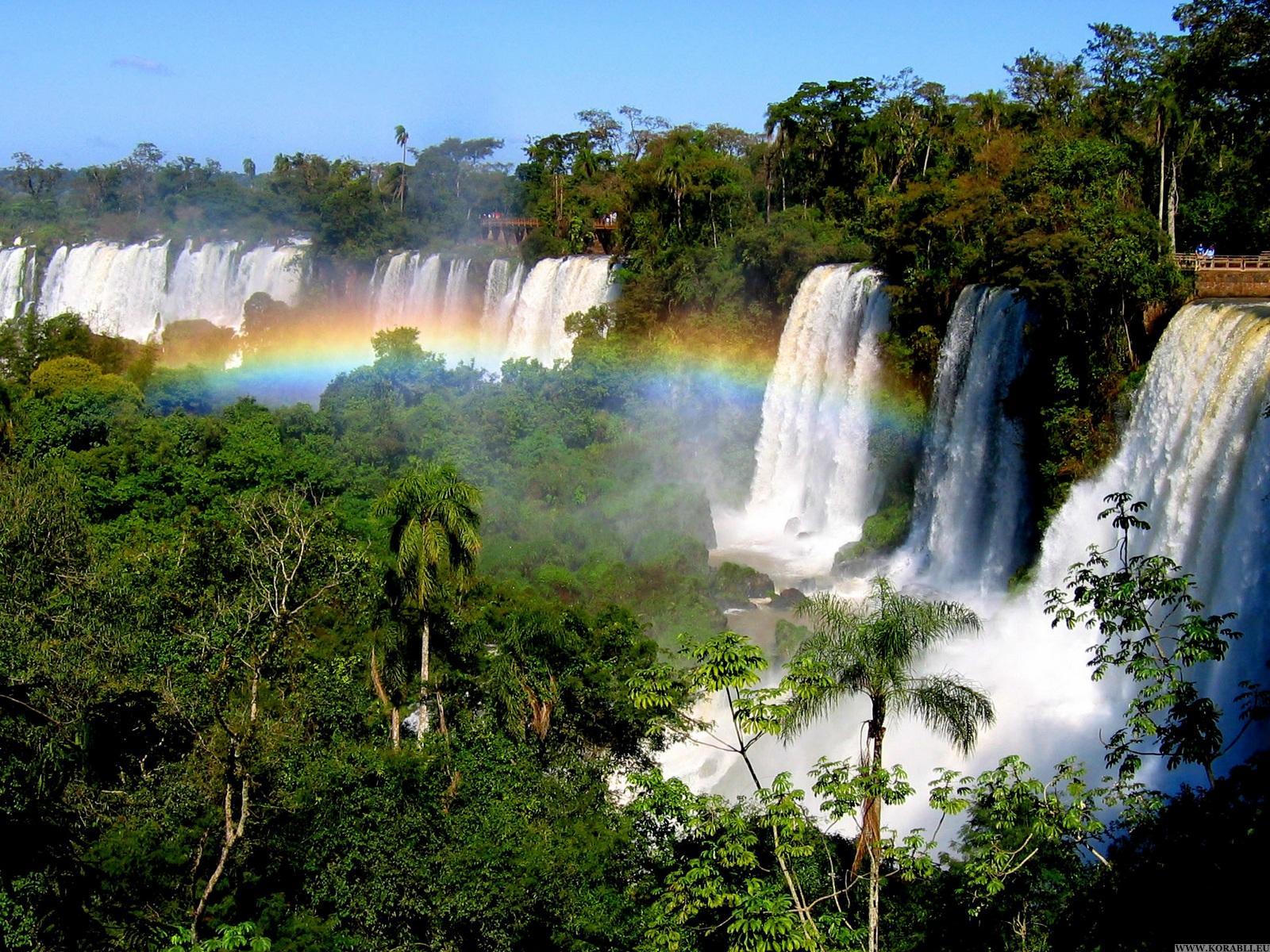 Водопады Игуасу, Южная Америка