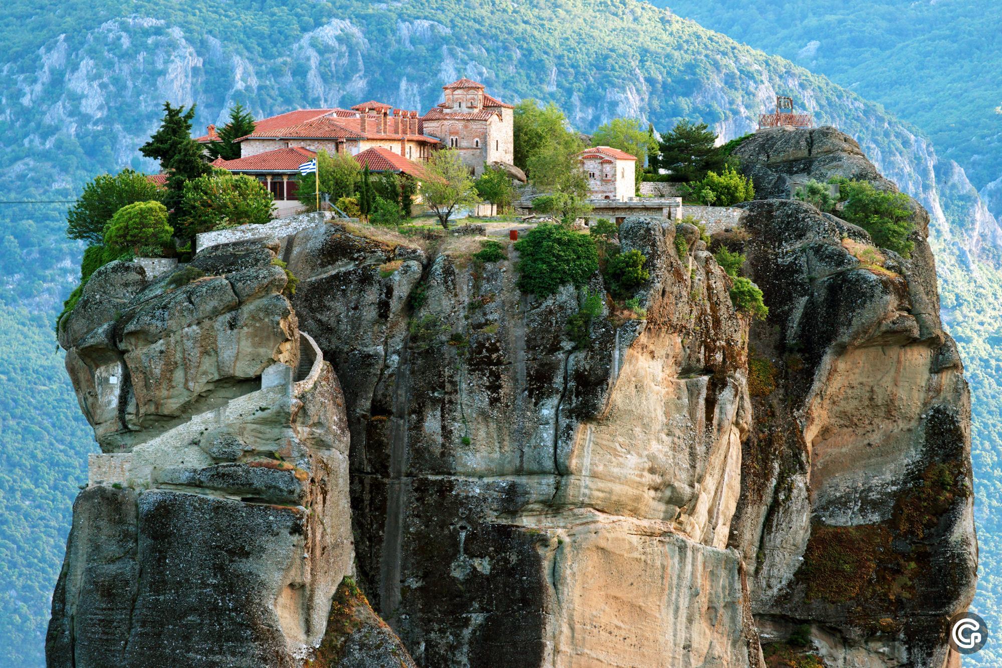 Монастыри Метеоры, Греция