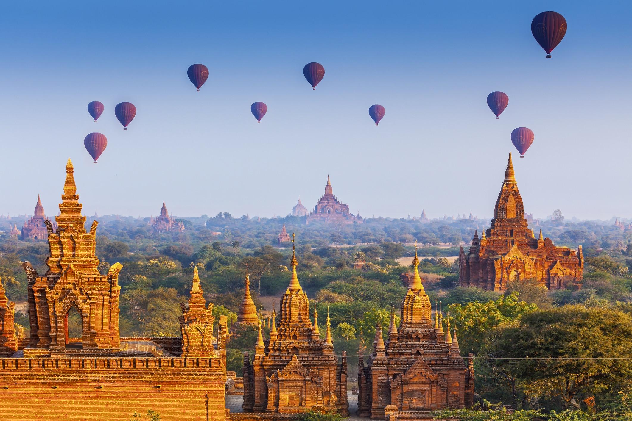 Храмы Пагана, Мьянма