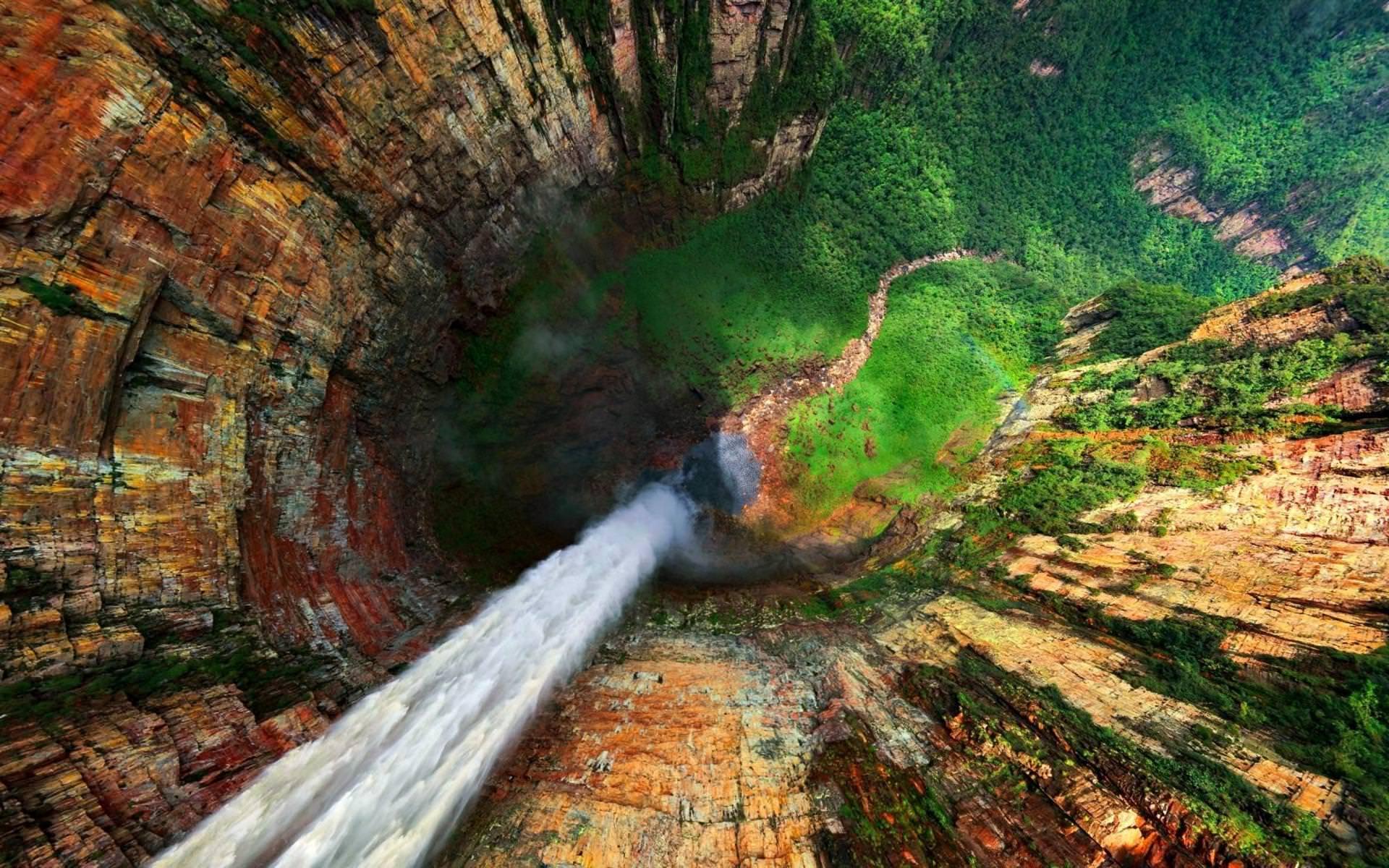 Гора Рорайма, Южная Америка