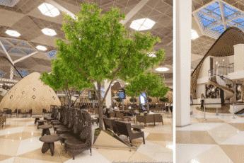 Самый красивый аэропорт в мире: Баку, Азербайджан Источник: http://travelask.ru/blog/posts/2270-samyy-krasivyy-aeroport-v-mire-baku-azerbaydzhan