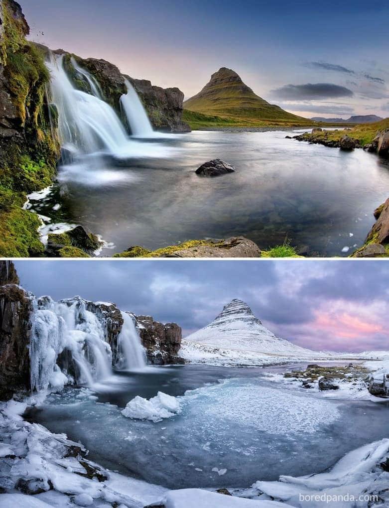Бассейн Киркьюфетль, Исландия