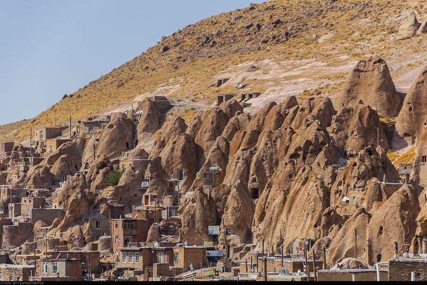Деревня Кандован, Оску, Восточно-Азербайджанская область