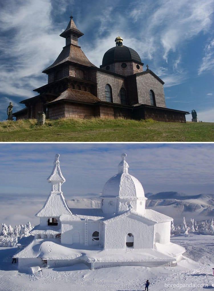 Горы Радгошть, Чехия