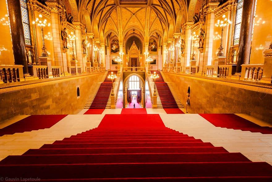 Интерьер венгерского парламента