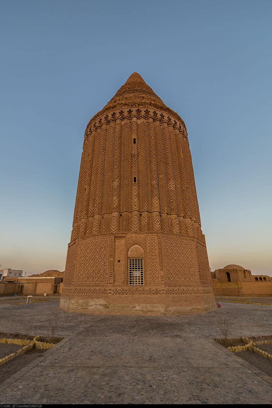Историческая башня Кешмар, деревня Кешмар, Кашмар, провинция Разави Хорасан