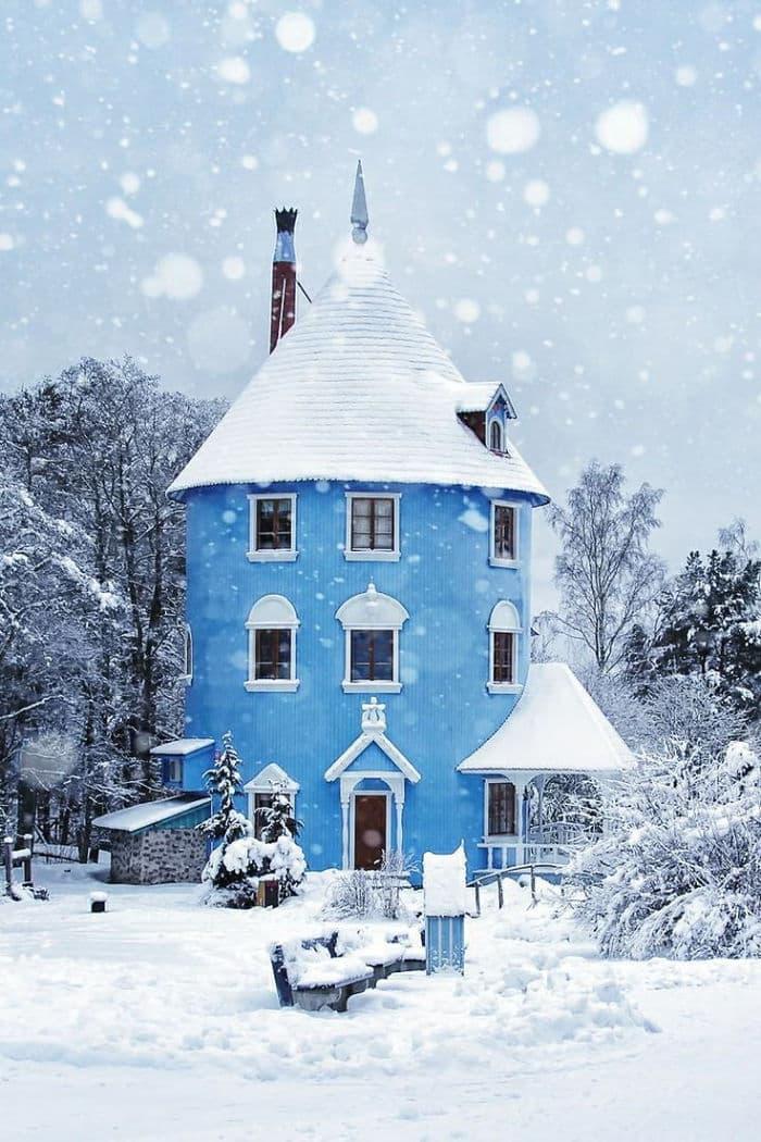 Муми-Дом на острове Кайло в Финляндии