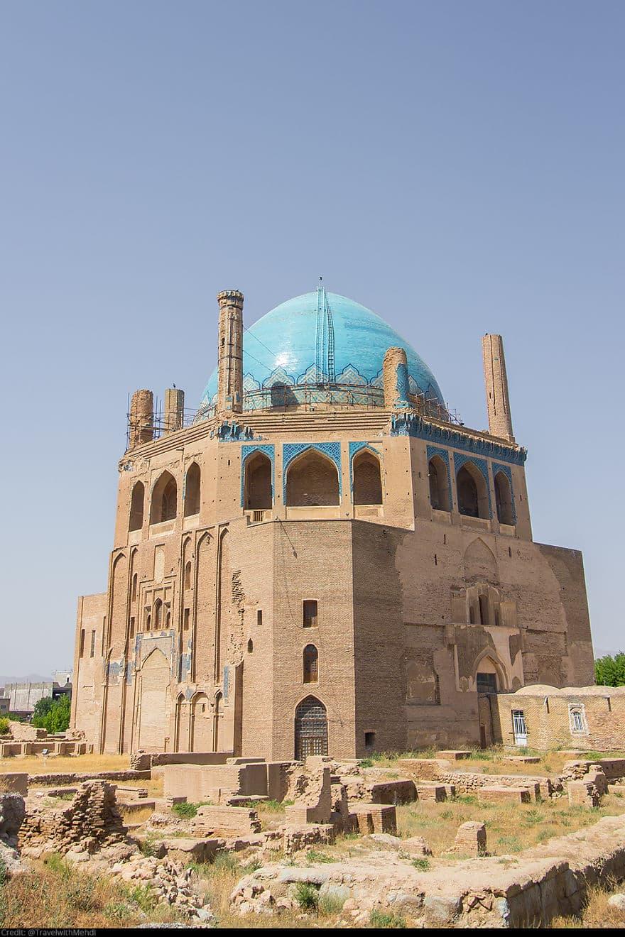 Soltaniyeh Dome, Сольтание, Провинция Занджан