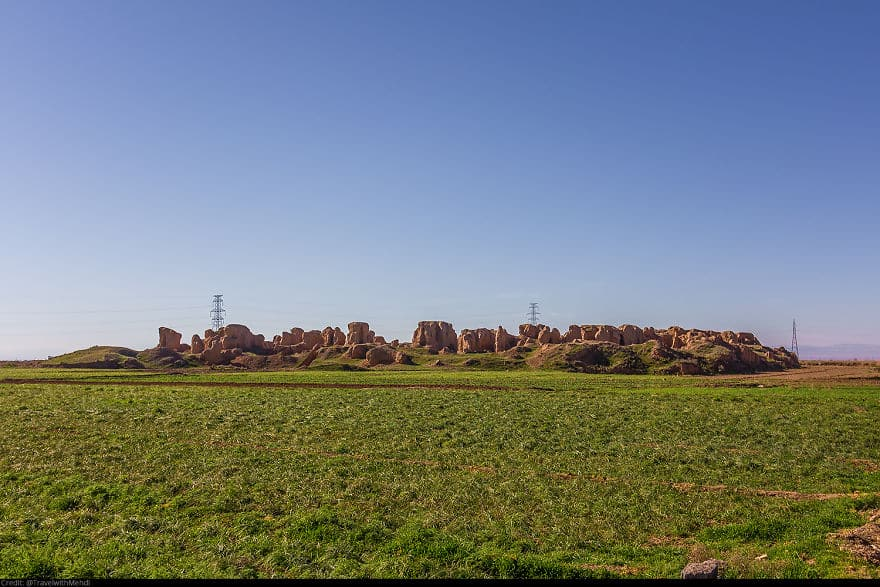 Torob Abad Древние холмы и руины человеческого рода, Нейшабур, Разави Хорасан