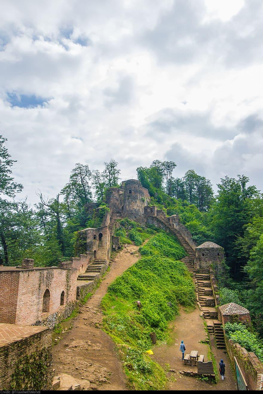 Замок Рудхан, Фуман, провинция Гилан