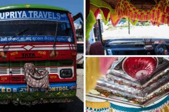 автобусы в Непале