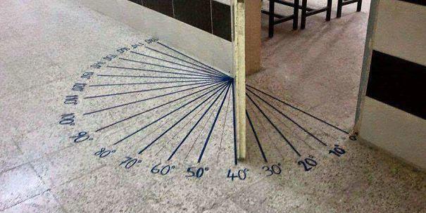 дверь в кабинет математики