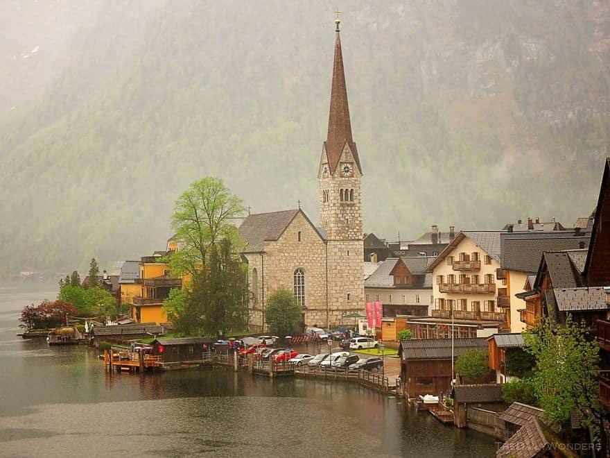 городок Халльштатт. Австрия