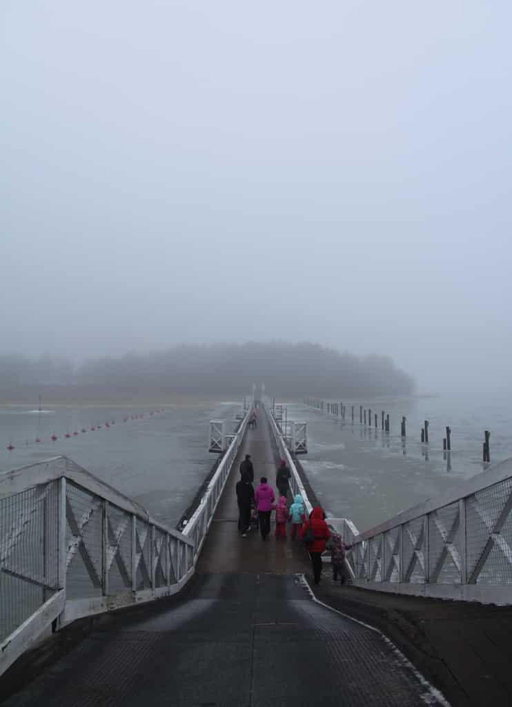 мост, соединяющий Наантали с островом Кайло