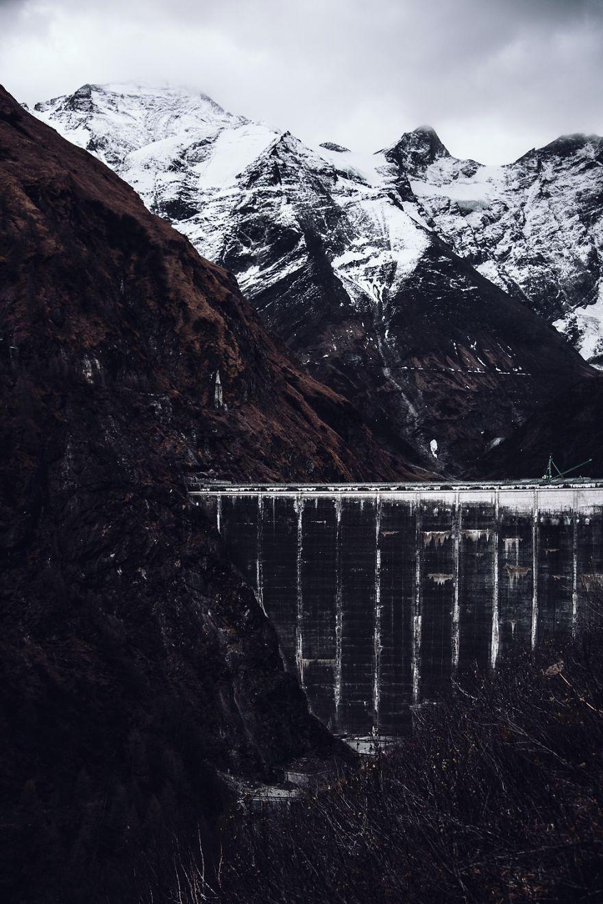 плотина Капрун