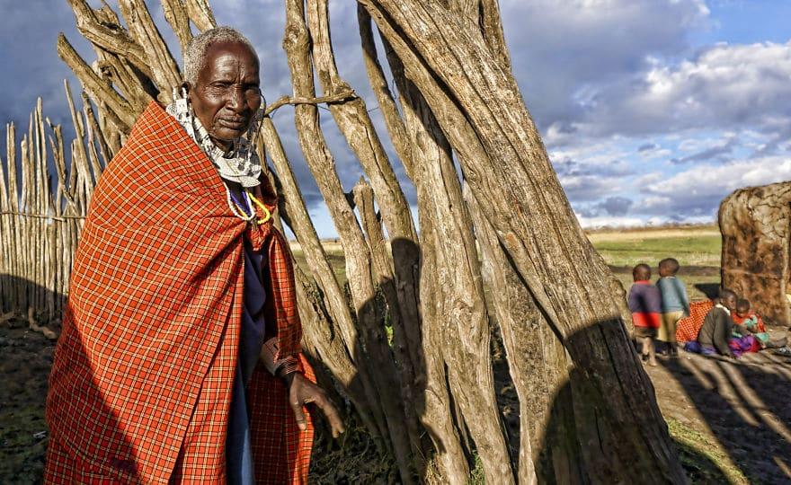 старейшина племени Масаи